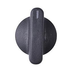 00189100 Thermador Cooktop Knob Sgs/X304 Rear Black