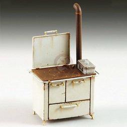Royal Model 1/35 Vintage Kitchen Antique Wood Stove w/Stovep