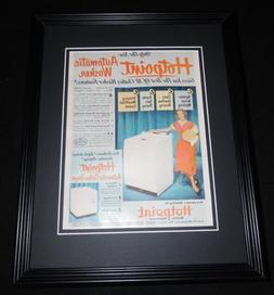 1951 Hotpoint Appliances 11x14 Framed ORIGINAL Vintage Adver