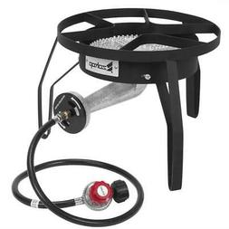 200,000 BTU Outdoor Stove Propane Burner Cooking Gas Portabl