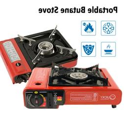 2020 New Portable Butane Stove 8,000 BTU Camping Backpacking