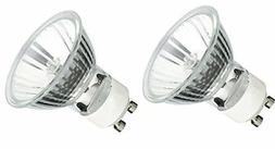 2Pack, GU10 120V 35W MR16 Q35MR16 35 watts JDR Halogen Bulb