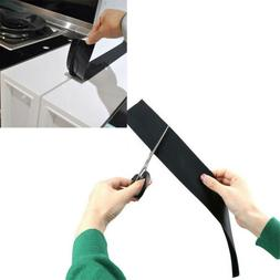 2Pcs Silicone Kitchen Stove Counter Gap Cover Oven Guard Spi