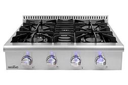 "30'' Thor Kitchen Gas Range Top/Cook Top 30"" W x 27.5"" D"