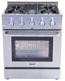 Thor Kitchen 30 Inch,4 Burners, 1 Oven Freestanding or Built