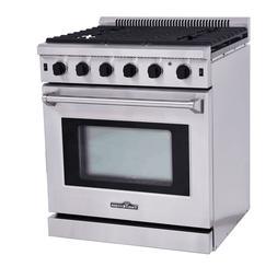 """Thor Kitchen  30"""" RangeStove Oven 5 Burner range stove Stain"""