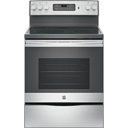 GE 30 Stainless Steel Freestanding Electric Range