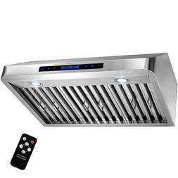 """AKDY 30"""" Under Cabinet Stainless Steel Range Hood Kitchen St"""