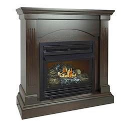 Pleasant Hearth 36 Compact Tobacco Natural Gas Vent Free Fir
