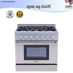 """36"""" Gas Hob Gas Cooktop 6 Burners Stove Kitchen Easy Clean G"""