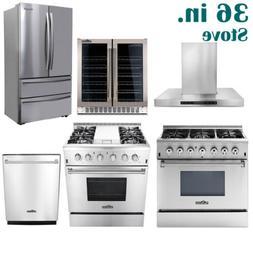 """36"""" Thor Kitchen Cooking Gas Range Stoves & Dishwasher &Rang"""