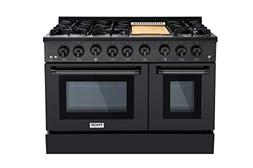 Thor 48 Gas Range Professional Kitchen Style Natural Gas, Pr
