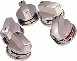 5 Pack EBZ37189611 EBZ37189609  Stove Knobs Replacements for