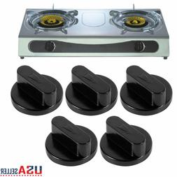 5 Pack Electric Stove Knobs for Tappan Magic Chef Universal Oven Range Burner