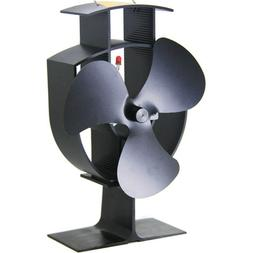 """6"""" Heat Powered Eco Stove And USB Desk Fan For Wood Burning"""