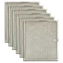 6-Pack Air Filter Factory Compatible Replacement for Broan S