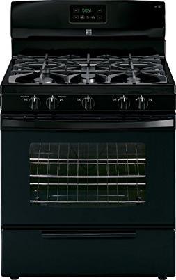 Kenmore 73439 4.2 cu. ft. Standard Clean Gas Range in Black,