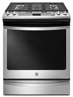 Kenmore 75123 5.8 cu. ft. Gas Range in Stainless Steel, incl