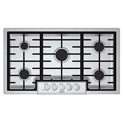 Bosch 800 Series 36 Stainless Steel Gas Cooktop