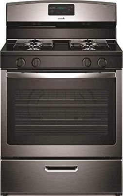 Amana - 5.1 Cu. Ft. Freestanding Gas Range - Stainless Steel