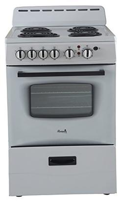 Avanti ER24P0WG White 24 in. Electric Range