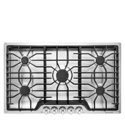 """Frigidaire - 36"""" Gas Cooktop - Stainless"""