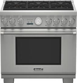 Thermador Pro Grand PRG366JG 36 Pro-Style Gas Range 6 Sealed