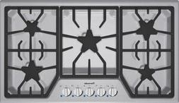 Thermador : SGS365FS 36 Gas Cooktop with 5 Star Burners - St