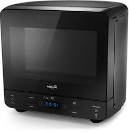 Whirlpool WMC20005YB 0.5 Cu. Ft. Black Countertop Microwave