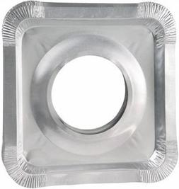 Aluminum Foil Square Gas Stove Burner Covers – Pack of 100