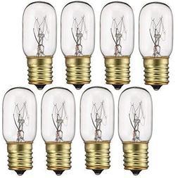 40 Watt Appliance Light Bulb, T8 Tubular Incandescen Light B
