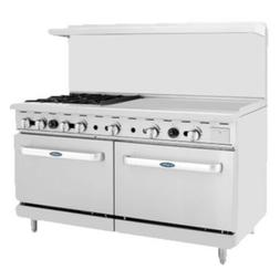 "Atosa ATO-36G4B 60"" CookRite Gas Restaurant Range with 4 Bur"