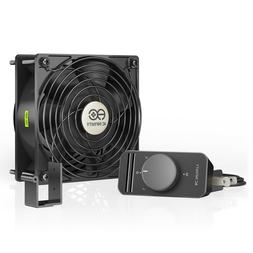 AC Infinity AXIAL S1238, 120mm Muffin Fan with Speed Control