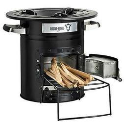 BBQ-Toro Rocket Stove - Portable Biomass, Wood Burning and C