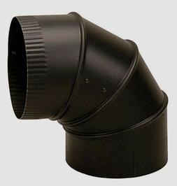 """New IMPERIAL BM0014 6"""" Dia. STOVE PIPE ELBOW 90° ADJUSTABLE"""