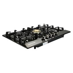 "Brand 30"" Stainless Steel 5 Burners Built-In Stove Cooktop G"