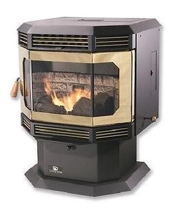 BRECKWELL 2700 BAY WINDOW Wood Pellet Stove, Insert, Furnace