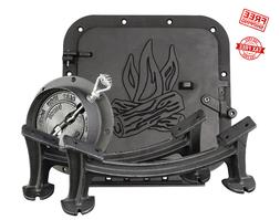 United States Stove Company BSK1000 Cast Iron Single Barrel