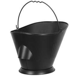 Bucket for Fireplace Assembled Pellet Stove Hot Ashes Carrie