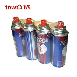 Uniware Butanel Fuel Canisters For Portable Camping Stoves