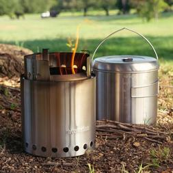 CAMPFIRE by Solo Stove NEWEST Kit twig burning gasifier Jumb