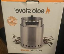 SOLO STOVE CAMPFIRE CAMP STOVE -  FREE FATWOOD STARTERS INCL
