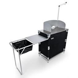 Camco Camping Deluxe Kitchen Table Cooking Supplies Outdoor