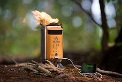 BioLite CampStove Campstove 2 Wood Burning & USB Charging Ca