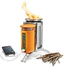 Biolite CampStove Wood Burning Portable Camp Stove with Powe