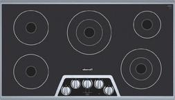Thermador : CEM365FS 36 Masterpiece Electric Cooktop SS