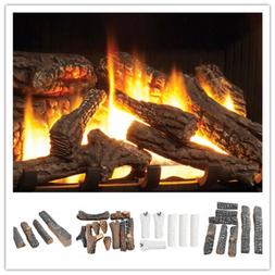 Ceramic Wood Logs and Accessories for All Types of Indoor Ga