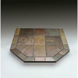 Chimney 49202 Asian Slate Double Cut Stove Board 40 x 40 Inc