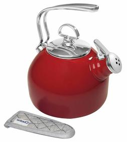 Classic Enamel-on-Steel Teakettle