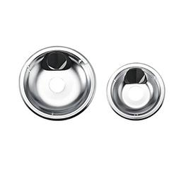Farberware Classic Universal Stovetop Drip Pans, 6-Inch and